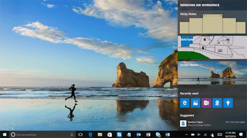 Tips Windows 10 Menggunakan Windows Ink Workspace