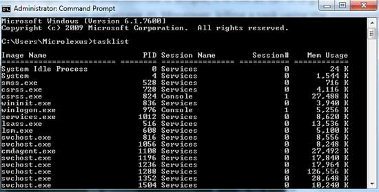 Cara Kill Running Process di Windows Dengan Command Prompt