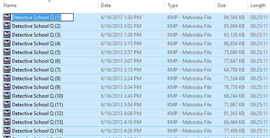 Cara Rename Banyak File di Windows Explorer