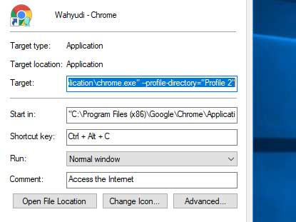 Cara Membuat Keyboard Shortcut Program di Windows 10