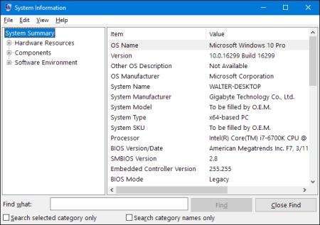 Cara Membuka System Information di Windows 10